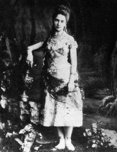 La Bayadère -Nikiya - Ekaterina Vazem, 1877 Credit - Paul Fearn/Alamy Stock Photo