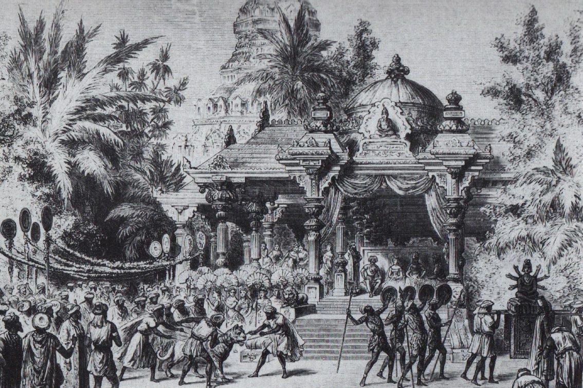 La Bayadère, Act 2, 1877
