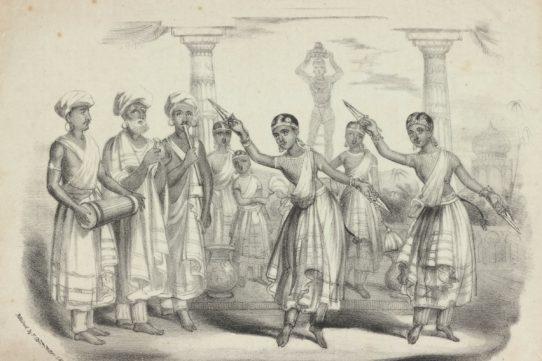 Original Indian temple dancers